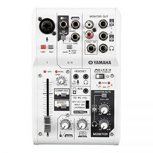 Yamaha - AG03 - Interface Audio et Mixeur combiné - USB 2.0 de la marque Yamaha image 0 produit