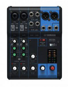 Yamaha - MG06YEM - Table de Mixage Analogique - Noir de la marque Yamaha image 0 produit
