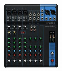 Yamaha - MG10YEM - Table de Mixage Analogique - Noir de la marque Yamaha image 0 produit