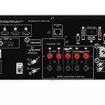 YAMAHA RX-V485 – Amplificateur Home Cinema 145W – Système Bluetooth, Wifi, Airplay, Multiroom – Compatible avec smartphones et ordinateurs – Noir de la marque Yamaha image 3 produit